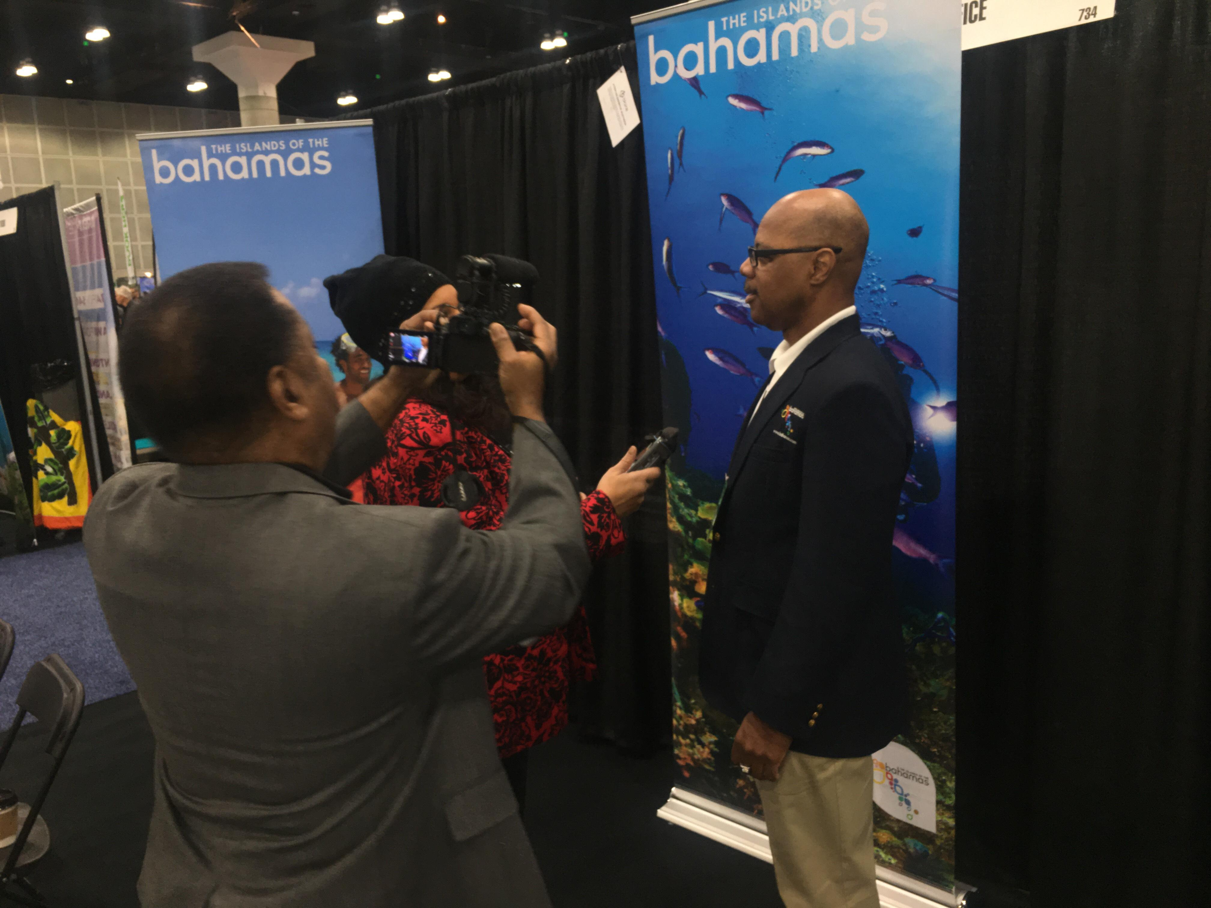 Bahamas Promoted As Ideal Vacation Spot To Travel Show Attendees