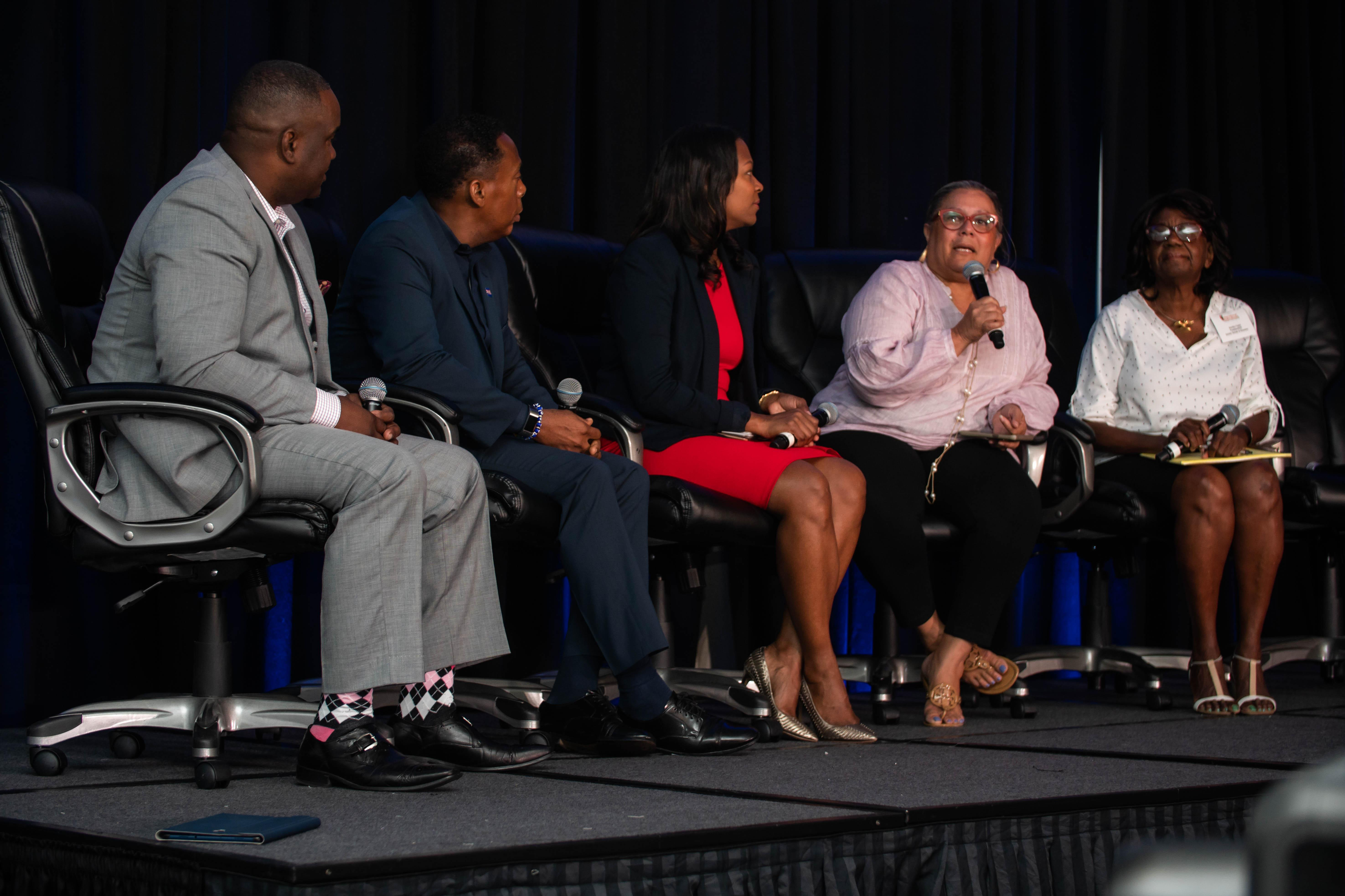 Janet Johnson, CEO and Executive Director of The Bahamas Tourism Development Corp (TDC), represented The Islands Of The Bahamas on a panel at the recent International Multicultural and Heritage Tourism Network Conference in Miami, Florida.  The topic of d