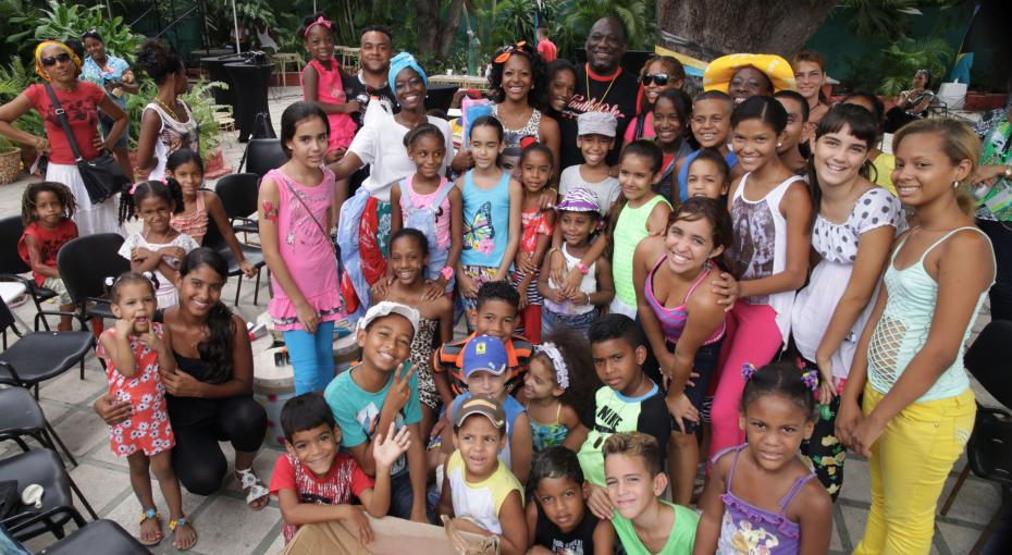 Cuban Children Get Bahamian Lessons In Culture