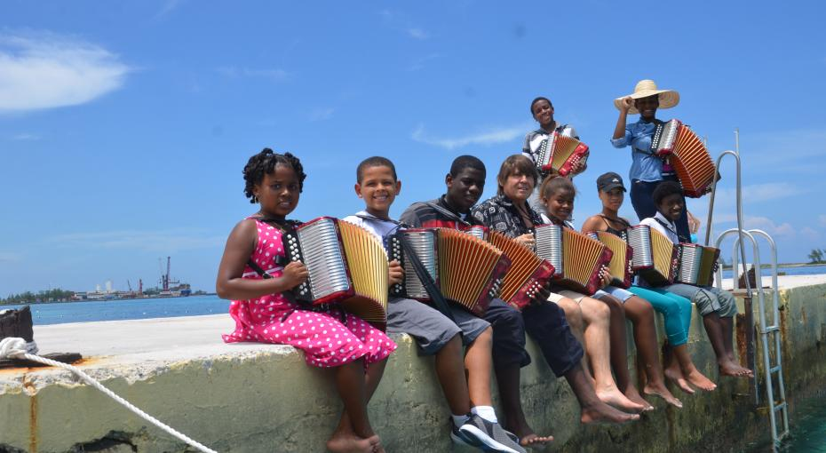 The Cat Island & French Accordion Ensemble - Photo by Candis Marshall
