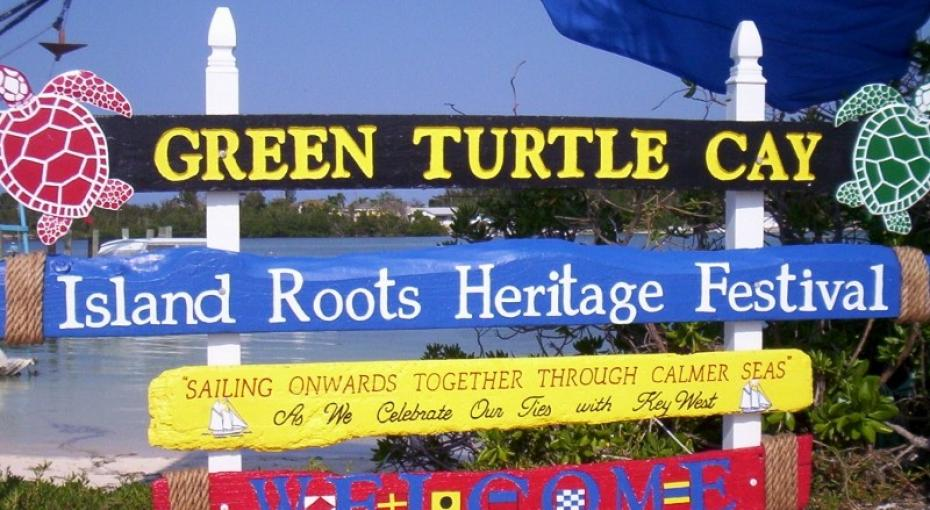 Island Roots Heritage Festival Sign (Photo by Destination Abaco)