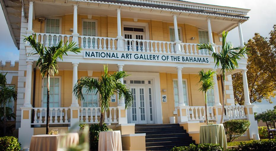 Exterior of The National Art Gallery of The Bahamas (NAGB)